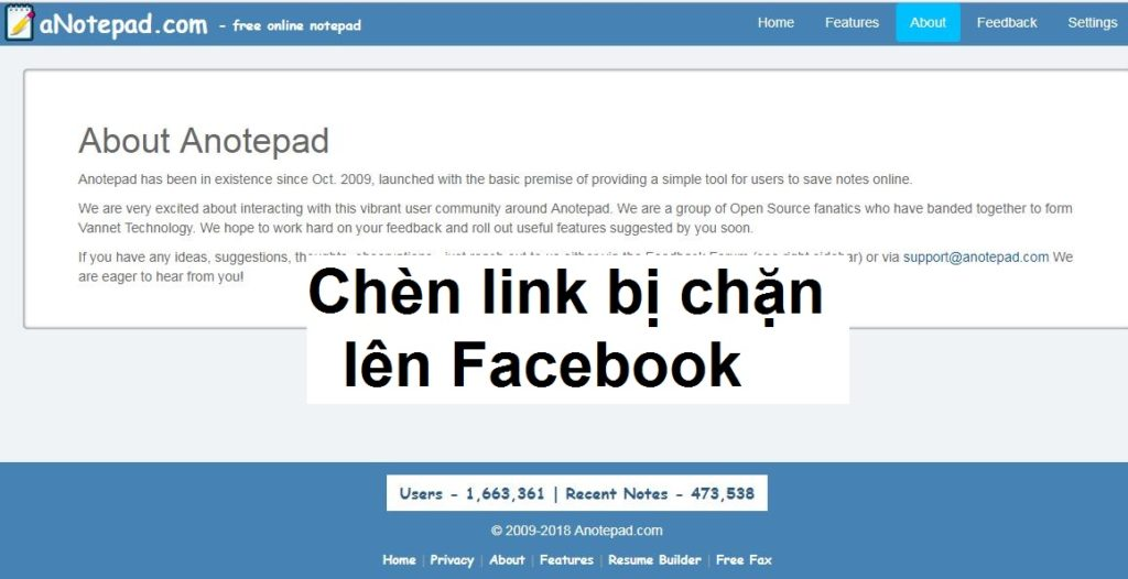 cach-chen-link-bi-chan-len-facebook-voi-anotepad-about